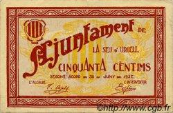 50 Centims ESPAGNE  1937 C.568 TTB