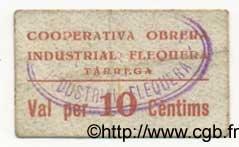 10 Centims ESPAGNE Tarrega 1936 C.586d TB+ à TTB