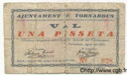 1 Pesseta ESPAGNE Tornabous 1937 C.603a B+
