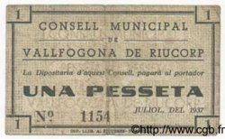 1 Pesseta ESPAGNE  1936 C.638