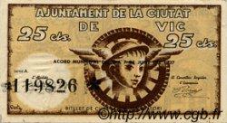 25 Centims ESPAGNE  1937 C.646 SUP