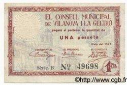 1 Pesseta ESPAGNE  1937 C.677a pr.TTB