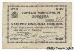 50 Centimos ESPAGNE  1936 E.842 TB