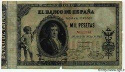 1000 Pesetas ESPAGNE  1895 P.045