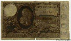 1000 Pesetas ESPAGNE  1895 P.045 TB+