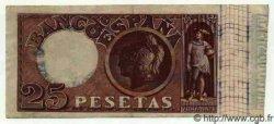 25 Pesetas ESPAGNE  1899 P.049 SUP+
