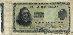 100 Pesetas ESPAGNE  1900 P.051 TTB