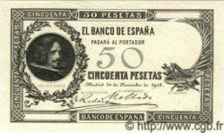 50 Pesetas ESPAGNE  1902 P.052 SPL