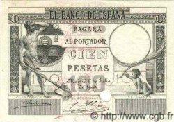 100 Pesetas ESPAGNE  1903 P.053 NEUF