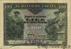 100 Pesetas ESPAGNE  1906 P.059a pr.TTB