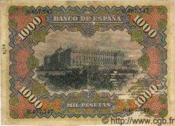 1000 Pesetas ESPAGNE  1907 P.066 pr.TTB