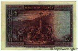 25 Pesetas ESPAGNE  1928 P.074b pr.SUP