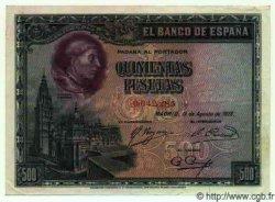 500 Pesetas ESPAGNE  1928 P.077a