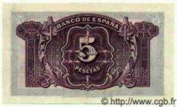 5 Pesetas ESPAGNE  1935 P.085a SPL+
