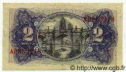 2 Pesetas ESPAGNE  1938 P.095 SPL
