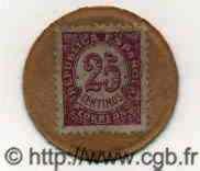 25 Centimos ESPAGNE  1938 P.096D SUP