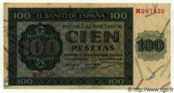 100 Pesetas ESPAGNE  1936 P.101 pr.SUP