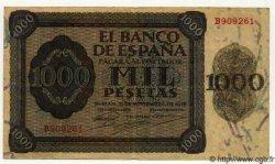 1000 Pesetas ESPAGNE  1936 P.103 TTB+