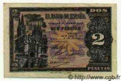 2 Pesetas ESPAGNE  1938 P.109a TTB
