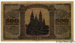 500 Pesetas ESPAGNE  1938 P.114 TTB