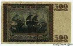 500 Pesetas ESPAGNE  1940 P.119a