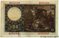 100 Pesetas ESPAGNE  1948 P.137a