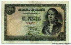 1000 Pesetas ESPAGNE  1949 P.138 TTB+