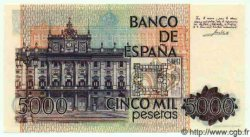 5000 Pesetas ESPAGNE  1979 P.160 NEUF