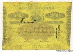 1000 Reales De Vellon ESPAGNE Cadiz 1863 PS.294 SUP+