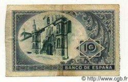 10 Pesetas ESPAGNE  1937 PS.562a TTB