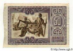50 Pesetas ESPAGNE Bilbao 1937 PS.564(a) SUP+