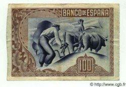 100 Pesetas ESPAGNE Bilbao 1937 PS.565(a) TTB