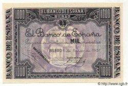 1000 Pesetas ESPAGNE  1937 P.S567a SPL
