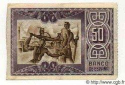 50 Pesetas ESPAGNE Bilbao 1937 PS.564f TTB+