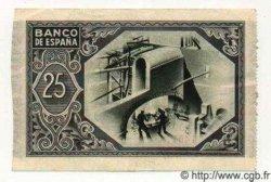 25 Pesetas ESPAGNE Bilbao 1937 PS.563(b) SPL