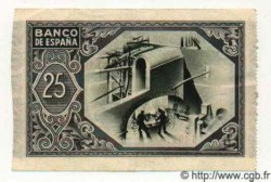 25 Pesetas ESPAGNE  1937 PS.563(b) SPL