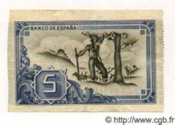 5 Pesetas ESPAGNE Bilbao 1937 PS.561c SUP+