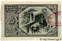 25 Pesetas ESPAGNE  1937 P.S563e