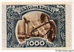 1000 Pesetas ESPAGNE Bilbao 1937 PS.567(e) TTB