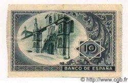 10 Pesetas ESPAGNE Bilbao 1937 PS.562g TTB+