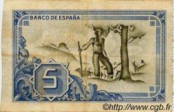 5 Pesetas ESPAGNE  1937 PS.561h TB+