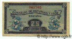 25 Centimos ESPAGNE  1936 PS.601 TTB