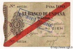 100 Pesetas ESPAGNE  1936 PS.575 TB+ à TTB