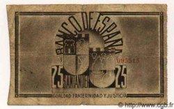 25 Pesetas ESPAGNE  1936 P.S583(c) B à TB