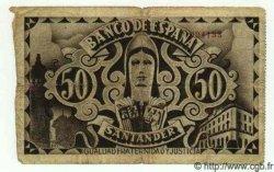 50 Pesetas ESPAGNE  1936 PS.584(d) B à TB