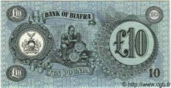 10 Pounds BIAFRA  1968 P.07b