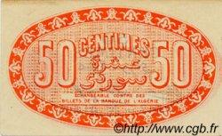 50 Centimes ALGÉRIE  1915 JP.04 SUP à SPL
