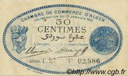 50 Centimes ALGER ALGÉRIE  1915 JP.137.08