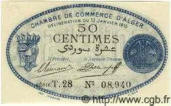 50 Centimes ALGÉRIE Alger 1915 JP.05 NEUF