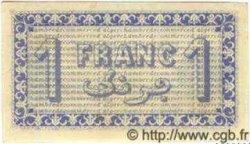 1 Franc ALGÉRIE  1919 JP.09 NEUF